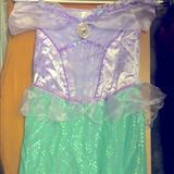 Disney Costumes   Disney Ariel Costume   Color: Green/Purple   Size: 910