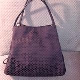Coach Bags | Coach Madison Op Art Phoebe Shoulder Bag | Color: Purple/Silver | Size: Os