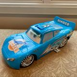 Disney Toys   Lightning Mcqueen Childrens Large Dinoco Toy Car   Color: Blue   Size: Osb