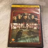 Disney Other | Pirates Of The Caribbean At Worlds End | Color: black | Size: Dvd & Blu-Ray
