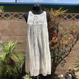 Free People Dresses | New Free People Ivory Baby Doll Lace Dress | Color: White | Size: S