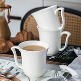 Wrought Studio™ Besancon Amparo Coffee Mug Set Porcelain/Ceramic in Brown/Green/White, Size 4.75 H in | Wayfair E57571D774DB43A2B19FBE087B721EEC
