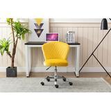 Latitude Run® Home Office Chair ——computer Chair Task Chair Home Executive Desk Chair Comfortable Swivel Chair in Yellow | Wayfair