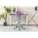 Latitude Run® Home Office Chair ——computer Chair Task Chair Home Executive Desk Chair Comfortable Swivel Chair in Gray | Wayfair