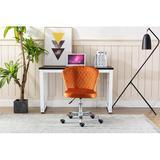 Latitude Run® Home Office Chair ——computer Chair Task Chair Home Executive Desk Chair Comfortable Swivel Chair in Orange | Wayfair