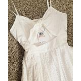 Michael Kors Dresses | Nwt Michael Kors Knotted Cutout Dress | Color: White | Size: 2