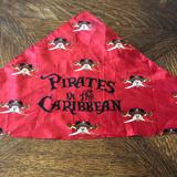 Disney Accessories | Disney Cruise Pirates Of The Caribbean Bandana | Color: Black/Red | Size: Osb