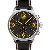 Chrono Xl Classic Tour De France Edition Leather Strap Watch - Black - Tissot Watches