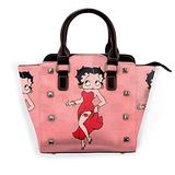 Be-T-Ty B-OOP Sexy Woman Girl Tote Bag Exotic Leather Rivet?Shoulder Purse Large Hip Hop Top Handle Bag with Zippered Top Satchel Purse,Large Purses for Shopping,Gift,Supermarket