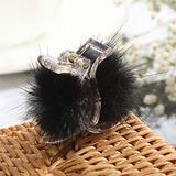 Acrylic Crystal Hair Claws Crab Rhinestone Luxury Accessories Ponytail Holder Clip Claw For Women Girls,CB0301-A