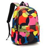 【OKIFY】School Backpack Girl Backpacks for School Backpack for Kids Cute School Backpack Elementary Dot Bookbag Multicolor Large storage