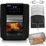 Deco Chef 12 Liter Digital Air Fryer Oven, w/ 3 Racks, Rotisserie, 8 Meal Presets Plastic in Black, Size 13.2 H x 12.8 W x 15.2 D in   Wayfair