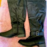 Torrid Shoes   Knee High Black Boots (Sz10w), New Never Worn   Color: Black   Size: 10w