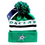 Adidas Accessories   Adidas Dallas Stars Nhl Winter Hat Beanie Green   Color: Green/White   Size: Os