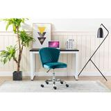 Latitude Run® Home Office Chair ——computer Chair Task Chair Home Executive Desk Chair Comfortable Swivel Chair in Green/Blue | Wayfair