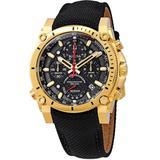 Precisionist Chronograph Quartz Black Dial Watch - Black - Bulova Watches