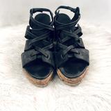 Free People Shoes | Free People Platform Sandal | Color: Black | Size: 7