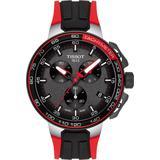 T-race Cycling Chronograph Watch - Metallic - Tissot Watches
