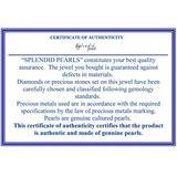 Square 6-6.5mm Cultured Freshwater Pearl Earrings - White - Splendid Earrings