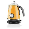 Aquavita Chalet Wasserkocher orange 1,7 Liter 2200W