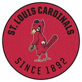 FANMATS MLB-St. Louis Cardinals Collection Roundel Rug-27in (1950) Retro, 27in. Diameter, Red