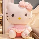 HUOQILIN Hello Kitty Cute Plush Toy Cushion Pillow Creative Gift