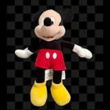Disney Toys | Mickey Mouse Plush Toy | Color: Black/Red | Size: Osbb