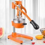 Frifer Manual Citrus Juicer Hand Press,Commercial Lemon Juicer Squeezer Heavy Duty Cast Iron Fuselage & Base,Stainless Steel Funnel&Filter Sc