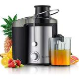 SILENT YOUTH Centrifugal Juicer in Black/Gray, Size 11.5 H x 11.5 W x 7.87 D in | Wayfair K17-027