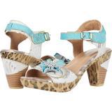 Wildcat - Blue - Spring Step Heels