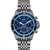 Quartz Bayville Chronograph Blue Dial Watch - Blue - Michael Kors Watches