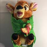 Disney Other | Disney Store Bambi Security Blanket | Color: Brown/Green | Size: Osbb