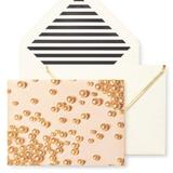 Kate Spade Other | Kate Spade New York Pearls Note Cards Set 9 | Color: Cream/Pink | Size: Os