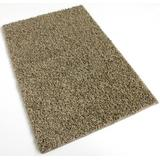 "7'X7' Square Pebble Beach Beige Frieze Shag Indoor Area Rug Carpet. Soft and Plush 32 oz 3/4"" Thick Frieze Indoor Area Rug"