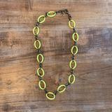 J. Crew Jewelry   J. Crew Bronze And Yellow Loop Necklace   Color: Yellow   Size: Os
