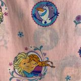 Disney Bedding | Disney Frozen Flat Sheet | Color: Pink | Size: Toddler Bed