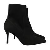 Nine West Shoes | Nine West Womens Boots Black Suede Size 7m | Color: Black | Size: 7