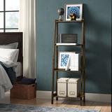 Red Barrel Studio® Bernardston Ladder Bookcase Wood in Brown, Size 60.0 H x 22.0 W x 14.0 D in   Wayfair AD19DC121EC044189C66B81DC12E307B