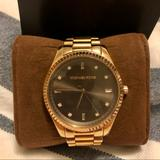 Michael Kors Accessories | Michael Kors Blake Brown Dial Rose Gold Watch | Color: Brown/Gold | Size: Os