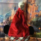 Disney Accessories | Disney Santa Hat W Mickey Ears | Color: Black/Red | Size: Os