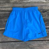 Nike Shorts   Bright Blue Nike Dri-Fit Soccer Shorts With Lining   Color: Black/Blue   Size: Xs