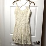 American Eagle Outfitters Dresses | American Eagle Lace Dress- Bride Bridal Shower | Color: Red | Size: M
