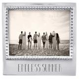 Mariposa Endless Summer Beaded Statement Picture Frame Metal in Gray, Size 5.8 H x 6.69 W x 1.0 D in   Wayfair 3906EE