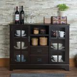 Winston Porter Console Table w/ Storage Cabinet, Size 32.0 H x 42.0 W x 12.0 D in | Wayfair 2118DC9EF42B4A90A091D4A28EB9C3FD