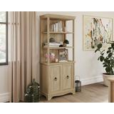 Orchard Oak 5-Shelf Bookcase with Doors - Sauder 425124