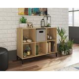 6 Cube Cubby Bookcase in Charter Oak Finish - Sauder 427286