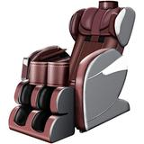 【US Fast Shipment】 Massage Chair Recliner, Full Body Massage Chair with Zero-Gravity, Compressor Leg Massager, Integrated Full Body Air Bag 8D Remote Control Electric Massage Chair (Yellow)