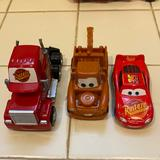 Disney Toys | Disney Car Toy Set Used For Collection, Plastic | Color: Red | Size: One