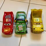 Disney Toys | Disney Car Toy Set For Collection, Plastic-Metal | Color: Green/Red | Size: One