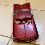 Disney Toys | Disney Car Toy Chevrolet Impala Vintage Used | Color: Red | Size: One